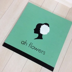 ah-flowers店舗のお店のロゴ2