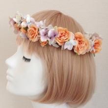 初めて造花=アーティフィシャルフラワーの花冠