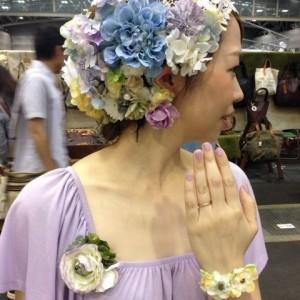 名古屋クリエイターズマーケット2014年vol30お花だらけ