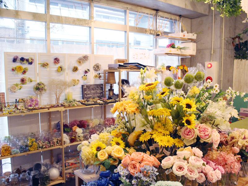 アーティフィシャルフラワー造花名古屋
