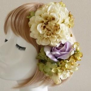 ボリューミーなヘッドドレスからシンプルなもの、和装用2