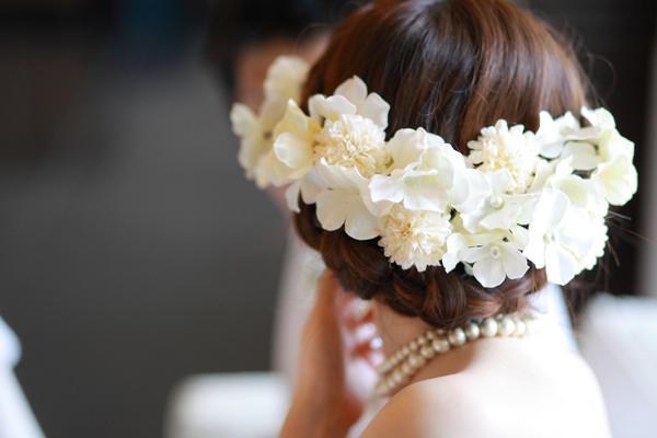 結婚式ヘッドドレス