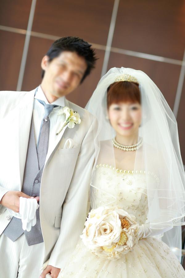 ウエディングブーケ、ヘッドドレス編2