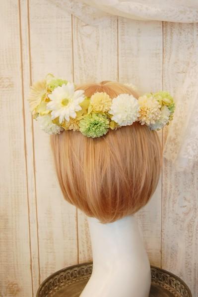 花冠教室 元気カラーの可愛らしい花冠