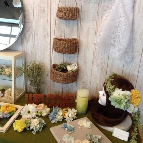 名古屋大須の造花屋ブーケヘッドドレス花冠販売・教室・オーダーのah flowers
