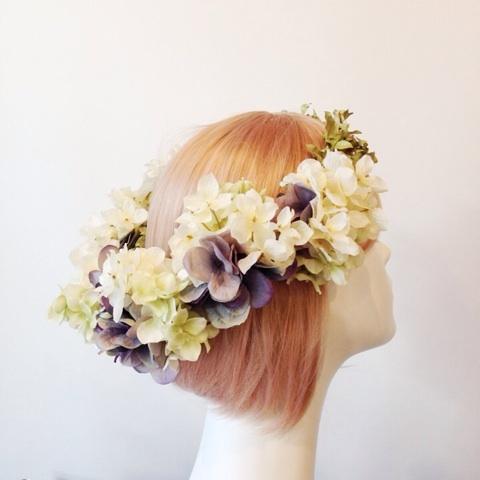 アンティークカラー花冠3