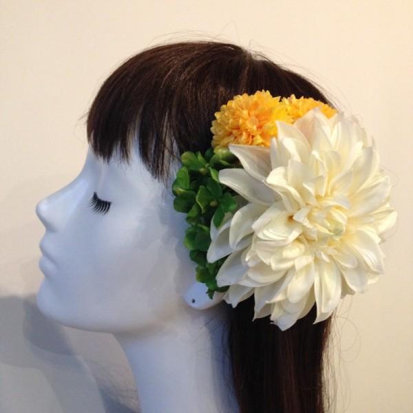 和装の髪飾り1