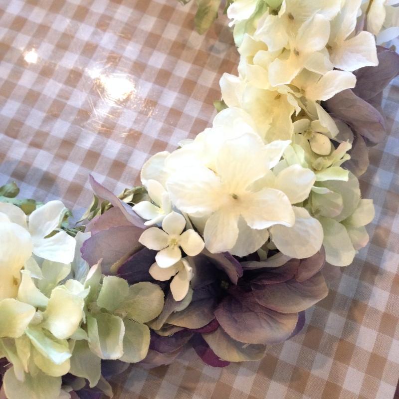 アンティーク花冠