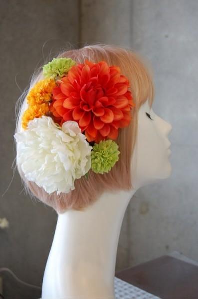 成人式・和装の髪飾り1