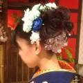 成人式髪飾り