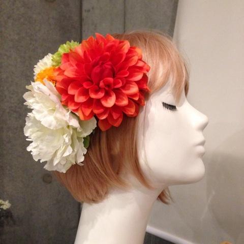 成人式・和装の髪飾り2