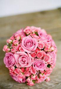 ピンクのブーケ