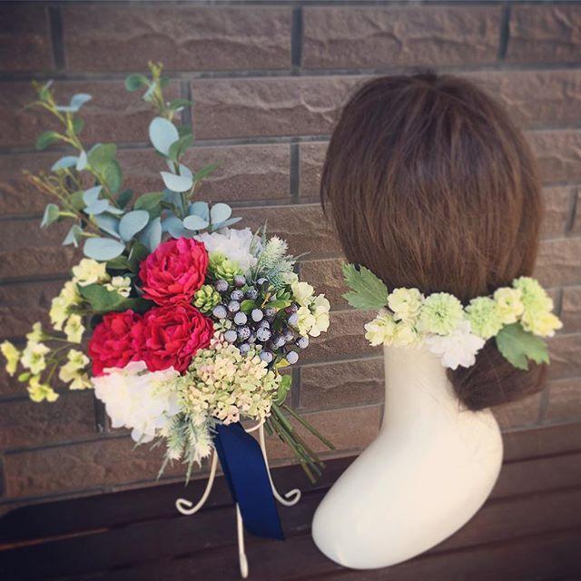 *ナチュラルにでも少し個性のあるブーケを。*ブーケは流行りがあったりドレスに似合わせることは簡単にできますがルールはありません。なので正解もありません。花嫁さんが「わ🤗」とテンションが上がるブーケをぜひ見つけてくださいねそれが最高の結婚式になるひとつのエッセンスですahflowersタグ#プレ花嫁 #結婚式 #wedding #ウェディング #花嫁 #結婚準備 #卒花嫁 #marryxoxo #卒花 #プレ花嫁卒業 #日本中のプレ花嫁さんと繋がりたい #名古屋花嫁 #marry花嫁 #東海花嫁 #結婚式準備 #ナチュラルブーケ #結婚 #全国のプレ花嫁さんと繋がりたい #プロポーズ #結婚式アイデア #花嫁diy #アンティークウェディング #色打掛 #結婚式diy #東海プレ花嫁 #名古屋婚 #名古屋 #ahflowers #ユーカリ #大人花嫁